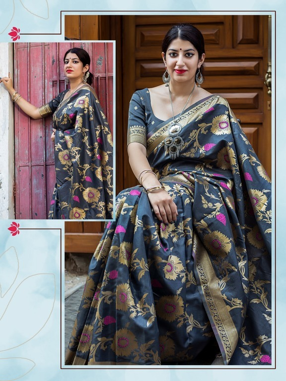 South Indian Party wear sarees