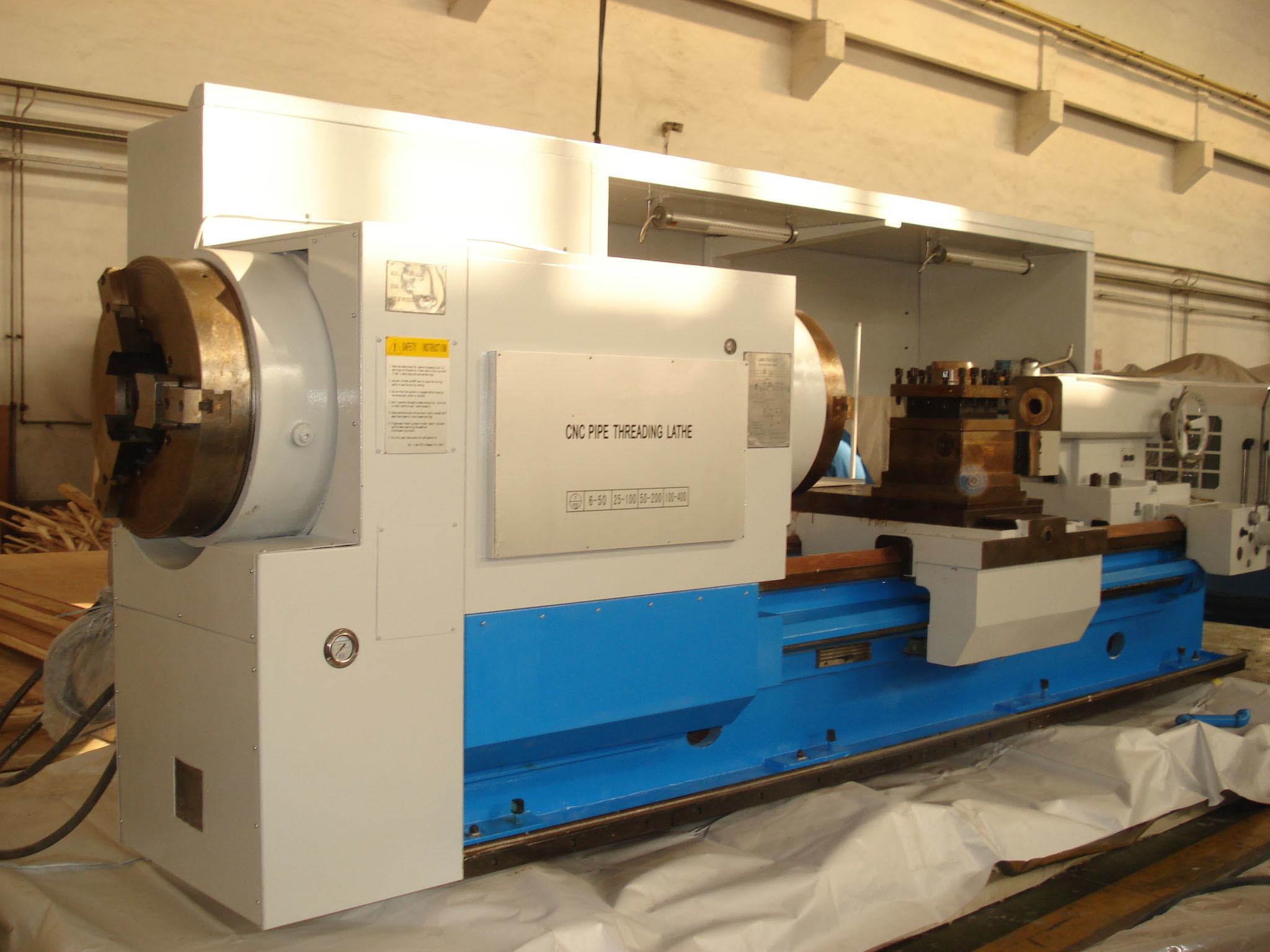 Pipe Threading lathe or oil country lathe for oil industry