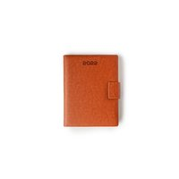 No.6 Size - One Day To A Page New Year Diary With Magnet Flap