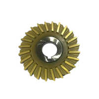 Gold Coating Side Face Cutter