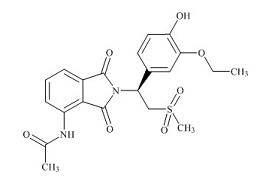 Apremilast Impurity 4 (O-Desmethyl Apremilast)