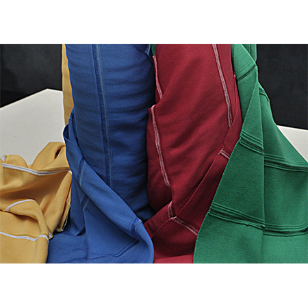 Collar and Tape fabrics with matching T-shirt fabrics