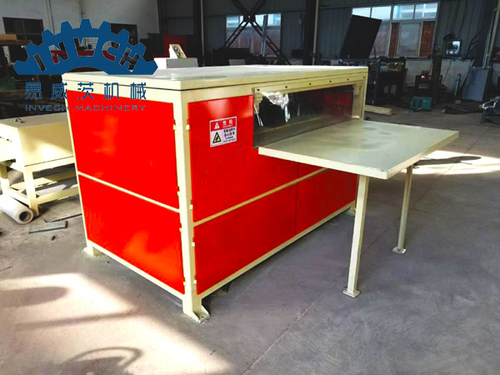 Wood Pallet Block Cutting Saw Machine
