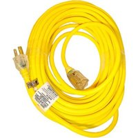 Extension Cord Yellow Color