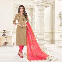 Designer Banglori Plain Cotton Salwar Suit