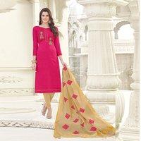 Banglori Plain Cotton Salwar Suit