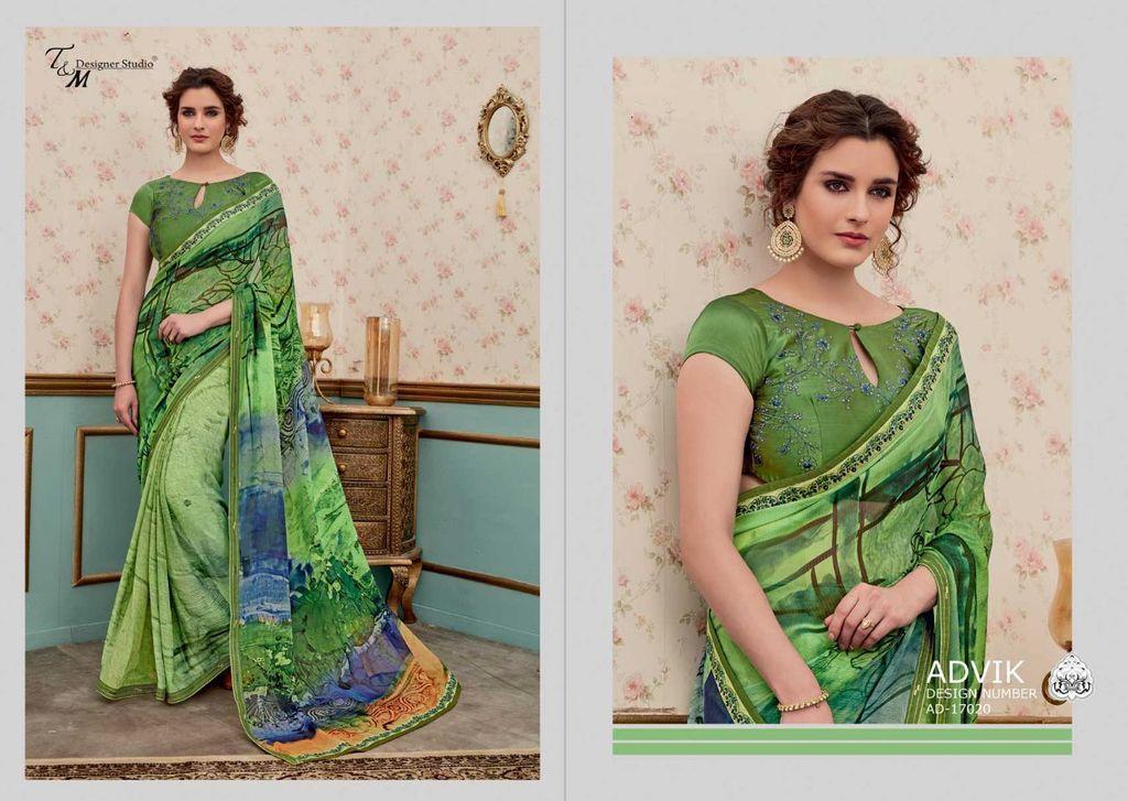 Latest Hand Printed Sarees