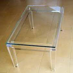 Acrylic centre  Table