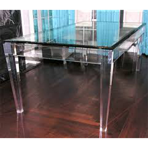 Acrylic Dinner Table