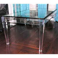 Acrylic Dinner Table
