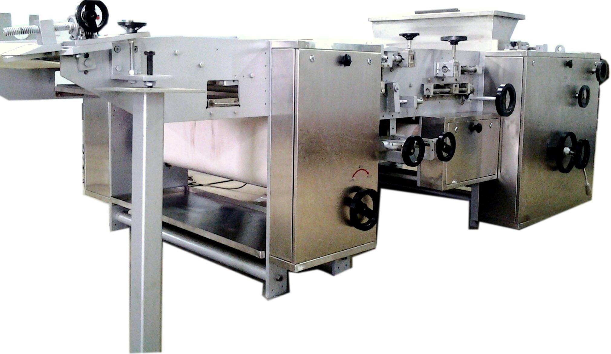 Semi Automatic Biscuit Making Machine