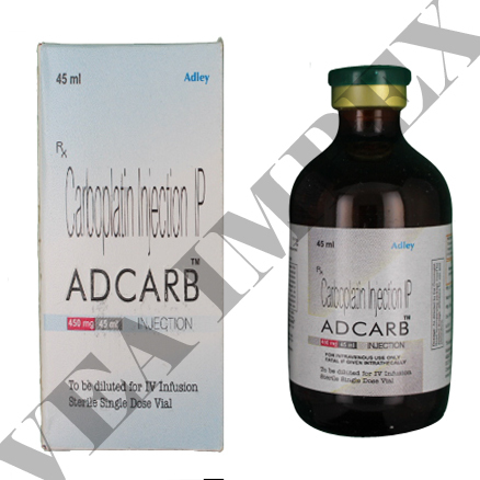 Adcarb 450 mg Injection(Carboplatin)