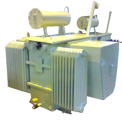 Transformer With HV And LV Cable Box