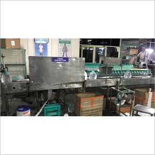 Counter Pressure Inspection Machine