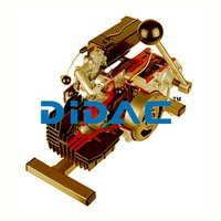 Two Stroke Moped Engine