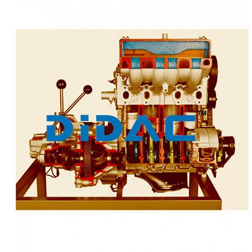 Diesel Engine With Transmission