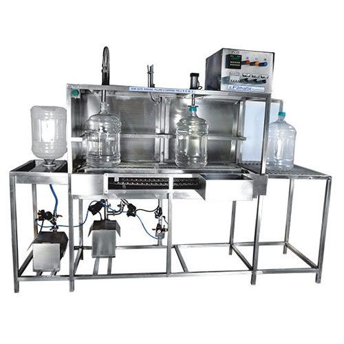 100 JPH Jar Filling Machine