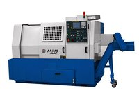 Good consistency cnc lathe 45 degree slant bed for metal cutting