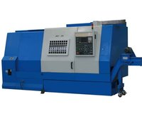 Easy operation cnc lathe slant bed for metal working with funuc gsk control from china