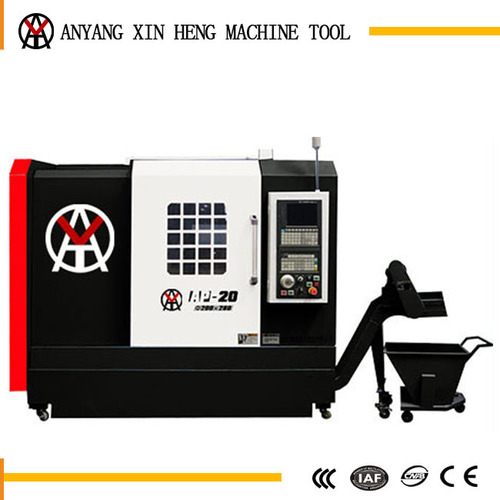 Easy operation cnc lathe slant bed for metal working price