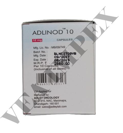 Adlinod 10 mg(Lenalidomide Capsules)