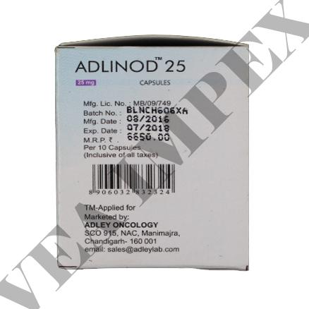 Adlinod 25 mg(Lenalidomide Capsules)