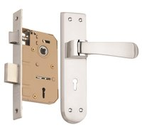 Zinc Mortise Handle Lock Set
