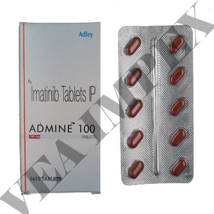 Admine 100 mg(Imatinib Tablets)