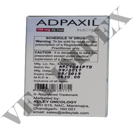 Adpaxil 100 mg(Paclitaxel Injection)