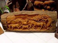 Wooden Craving Frame