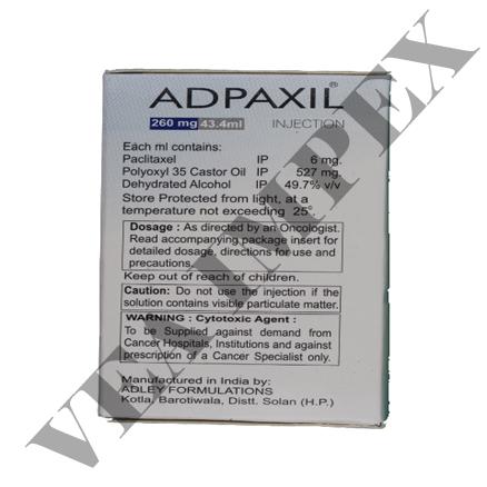 Adpaxil 260 mg(Paclitaxel Injection)