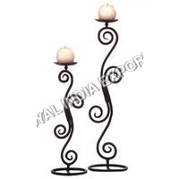 Modern stylo candle holder