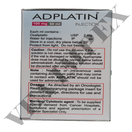 Adplatin 100 mg(Oxaliplatin Injection)