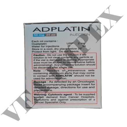 Adplatin 50mg(Oxaliplatin Injection)