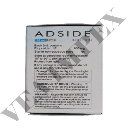 Adside 100 mg(Etoposide Injection)