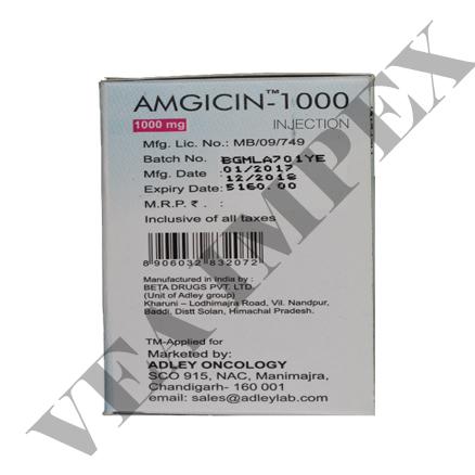 Amgicin 1000 mg(Gemcitabine Injection)
