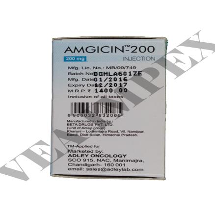 Amgicin 200 mg(Gemcitabine Injection)