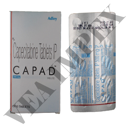 Capad 500 mg(Capecitabine Tablets)
