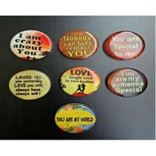 Printed Fridge Magnets