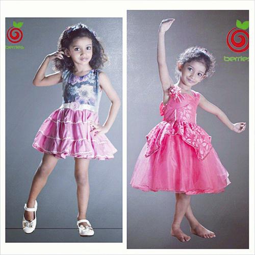 Printed Kids Dress