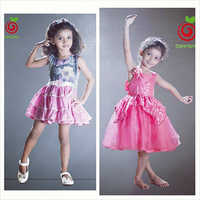 Printed Kids Dress