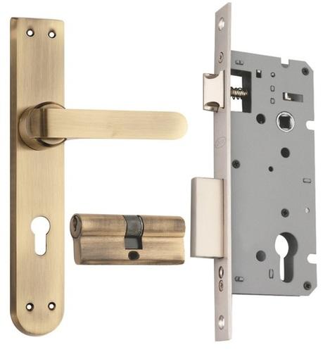 Zinc Mortice Cylindrical Lock Set
