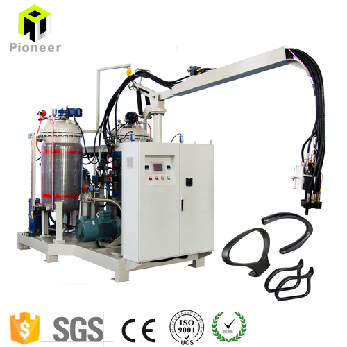 China Factory Price Self-skinning Foam Mixing Puring Machine for char armrest