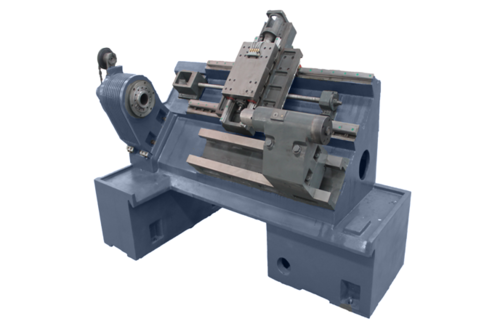 Cheap new swing over bed 940mm cnc slant bed lathe machine for sales