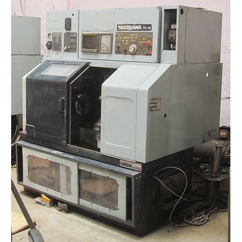 Old CNC Turning Machine