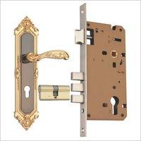 Zinc Mortice Cylindrical Lock Set (J8282BNGP)