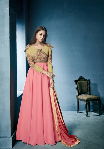 Semi Stitched Salwar Suits