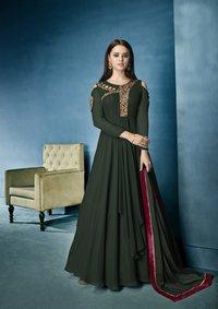 Semi Stitched Salwar Suits