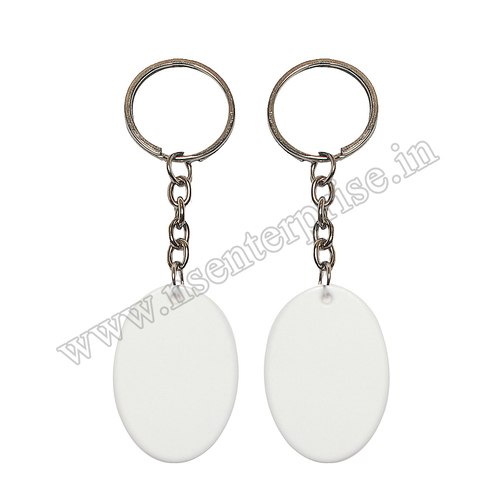 SUBLIMATION POLYMER KEYCHAIN PK-02