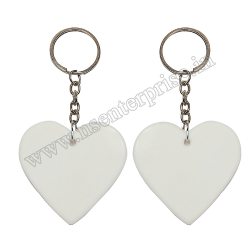 SUBLIMATION POLYMER KEYCHAIN PK-04